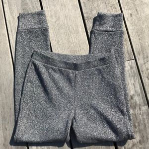 Gap girls shimmery jogger pants